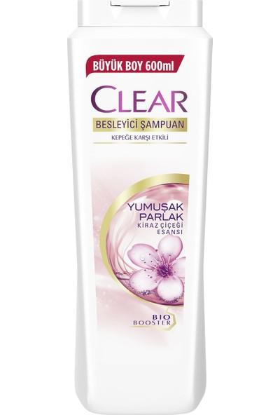 Clear Kadınlara Özel Yumuşak Parlak Kiraz Çiçeği Şampuan 600 ml