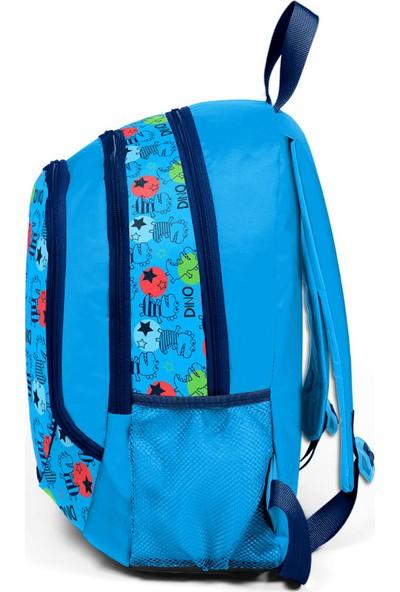 Yaygan Kids Mavi - Desenli Okul Çantası-14372