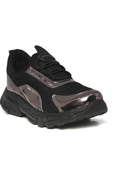 Lafonten 11 Siyah-Gri Aqua Lastikli Erkek Çocuk Spor Ayakkabı