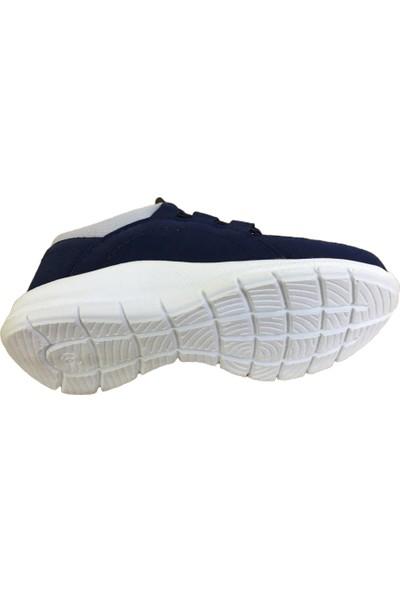 Lafonten 13 Lacivert-Gri Aqua Lastikli Erkek Çocuk Spor Ayakkabı