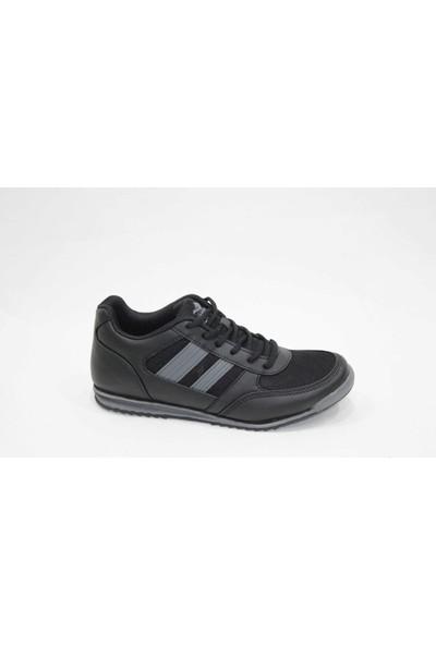 Jump 13011-N Siyah Gri Erkek Spor Ayakkabı