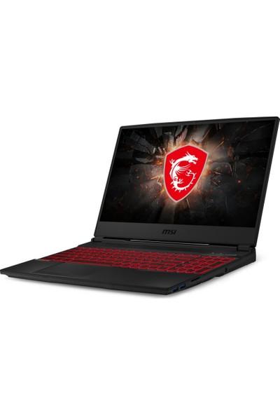 "MSI GL65 Leopard 10SDR-086XTR Intel Core i7 10750H 16GB 256GB SSD GTX1660Ti FreeDos 15.6"" FHD Taşınabilir Bilgisayar"