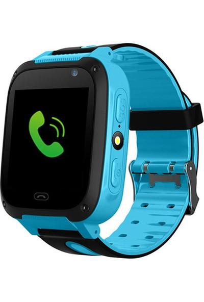 Smartbell Q530/2020 Sim Kartlı Akıllı Çocuk Saati - Siyah-Mavi