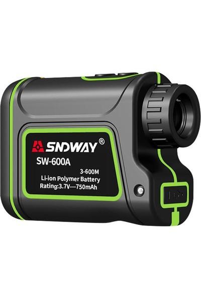 SNDWAY 600M Dürbünlü Hız ve Mesafe Ölçüm Lazer Metre Rangefinder