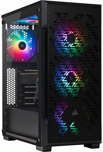 Corsair iCUE 220T MidTower RGB Tempered Airflow Smart Kasa CC-9011173-WW
