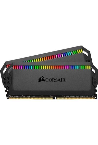 Corsair Dominator Platinium Black RGB 16GB(2X8GB) DDR4 3200MHz Ram CMT16GX4M2Z3200C16
