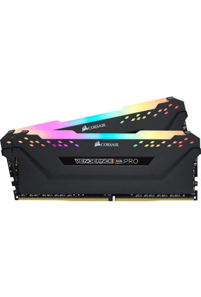 Corsair Vengeance Pro RGB 16GB(2X8GB) DDR4 3600MHz CL18 Ram CMW16GX4M2D3600C18