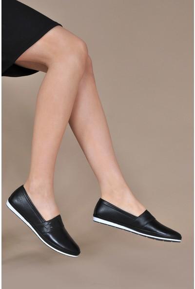 Vizon Kadın Siyah Günlük Ayakkabı VZN20-077Y