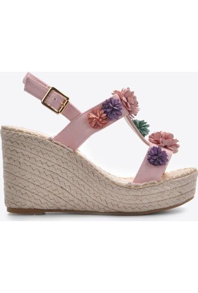 Vizon Kadın Pudra Sandalet VZN20-101Y