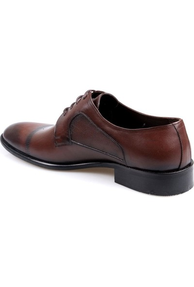 Talo Erkek (39-44) Deri Kahverengi Klasik Jurdan Ayakkabı