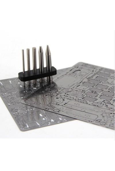 Soico Maket Model Metal Kits Brooklyn Köprüsü Gümüş Rengi