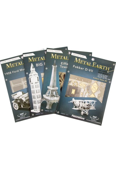 Soico Maket Model Metal Kits London Eye Altın Rengi