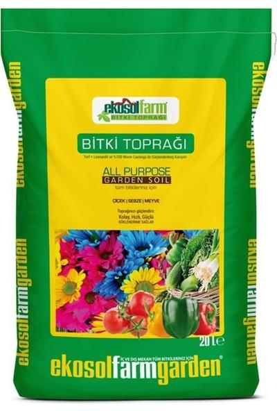 Ekosolfarm Bitki Toprağı Torf 2 x 20 lt