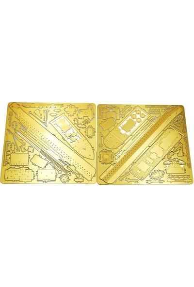 Soico Maket Model Metal Kits Black Pearl Altın Rengi