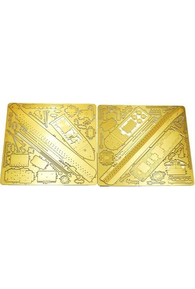 Soico Maket Model Metal Kits Galata Kulesi Altın Rengi