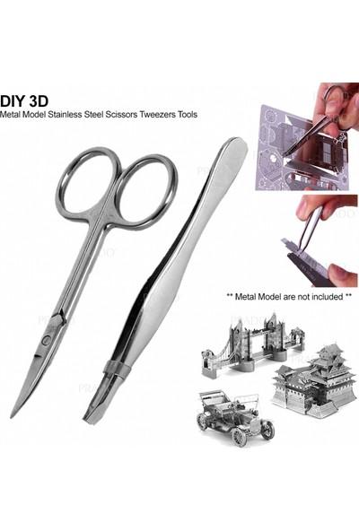 Soico Maket Model Metal Kits Londra Köprüsü Gümüş Rengi