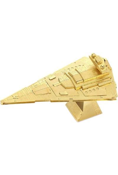 Soico Star Wars Metal Maket Model Kits Imprerial Destroyer Altın Rengi