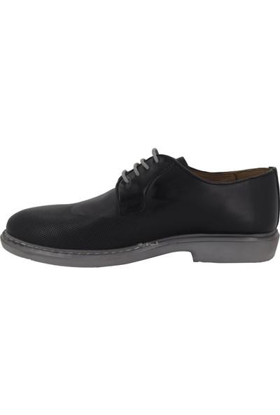Hobby Siyah Erkek Klasik Ayakkabı Todel