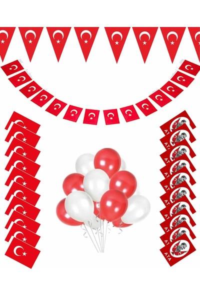 Kullan At Market 23 Nisan Balonlu Dekorasyon Seti Model 8