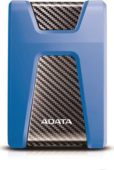 ADATA 2TB 2,5 HD650 Darbeye Dayanıklı USB 3.1 Taşınabilir Disk Mavi