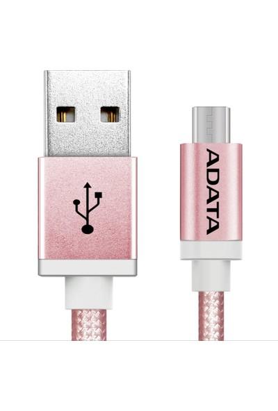 ADATA Micro USB 1MT. Şarj Kablosu Rose Gold Alüminyum (android)