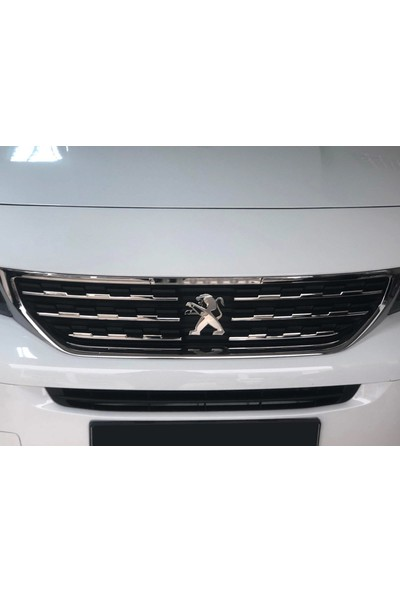 S-Dizayn Peugeot Rifter Krom Ön Panjur 6 Parça 2019 ve Üzeri