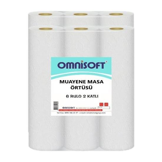 Omnisoft Extra Muayene Masa Örtüsü 50 cm x 210 mt - 6 Rulo