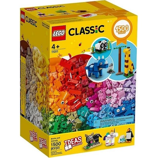 LEGO Classic 11011 Bricks And Animals
