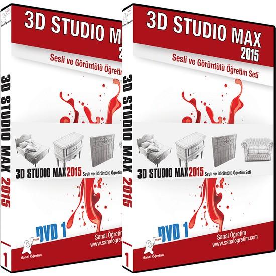Sanal Öğretim 3D Studio Max 2015 Video Eğitim Seti