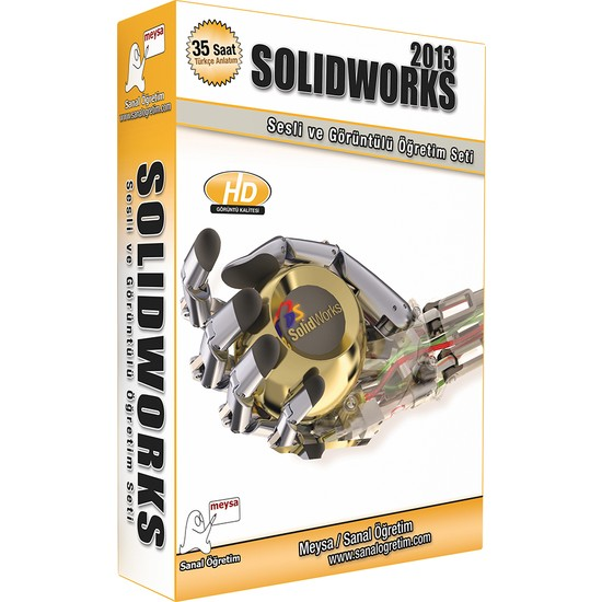 Sanal Öğretim Solidworks 2013 (Bölüm: 1) Video Eğitim Seti