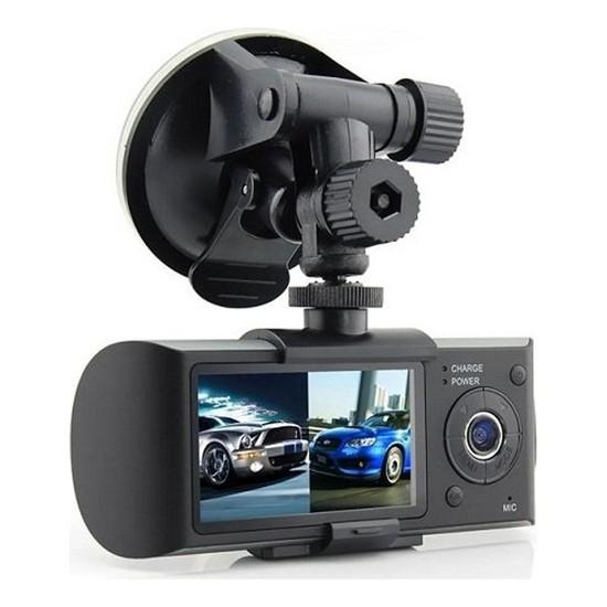 Kttech Gps Özellikli Full Hd Gece Görüşlü Çift Yönlü Araç Içi Kamera