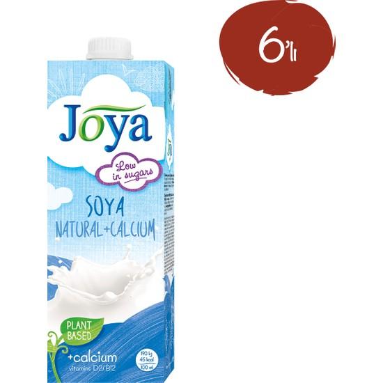 Joya Kalsiyum İlaveli Soya Sütü 1 lt - 6 Paket