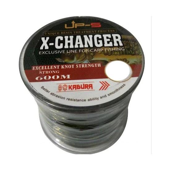 Kabura x -Changer 600 Metre 0.33 mm Carp Misina
