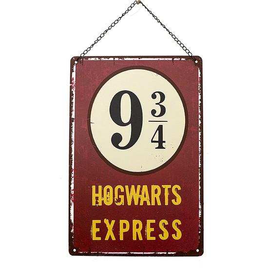 Carma Concept Hogwarts Express Metal Duvar ve Kapı Süsü- Retro Metal Pano