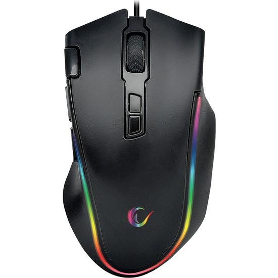 Rampage SMX-G72 Greedy RGB Makrolu Oyuncu Mouse