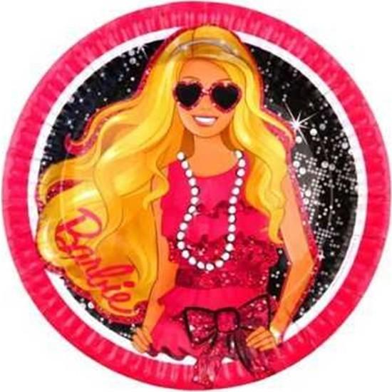 Kullan At Party Barbie Klasik Tabak 8'li