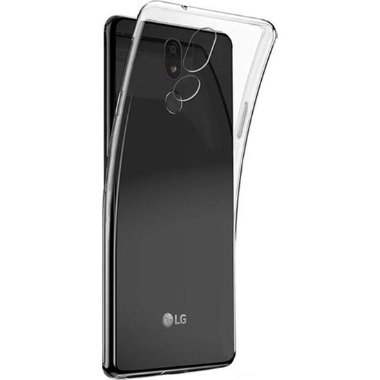 Herdem LG K40 Kılıf Süper Silikon Şeffaf