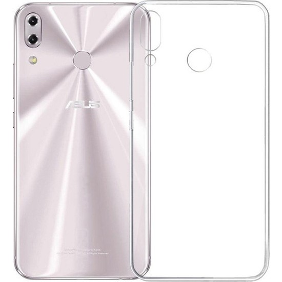 Herdem Asus ZenFone 5 ZE620KL Kılıf Süper Silikon Şeffaf