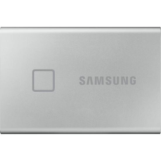 Samsung T7 Touch 2TB USB 3.2 Gen 2 Taşınabilir SSD Gümüş MU-PC2T0S/WW
