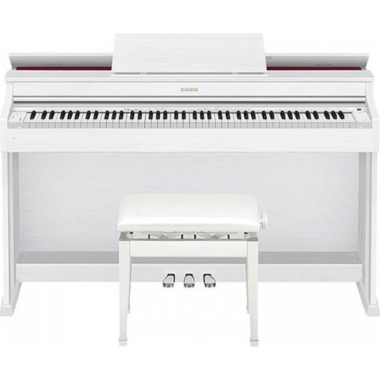 Casio AP-470 Dijital Piyano (Mat Beyaz)
