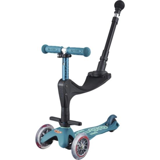 Micro Mini 3 In 1 Deluxe Plus Çocuk Scooter - Açık Mavi
