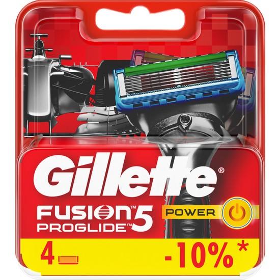 Gillette Fusion ProGlide Power Yedek Tıraş Bıçağı 4'lü Özel Seri