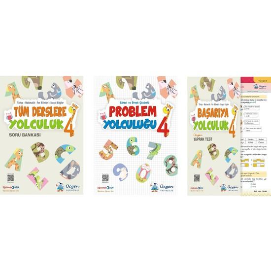 Üçgen Yayıncılık 4.Sınıf Set (3 Kitap)