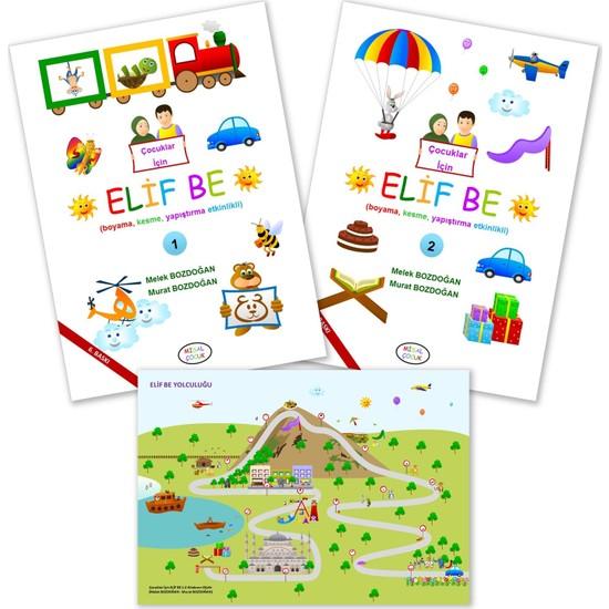 Çocuklar Için Elif Be 2 Kitap - Melek ve Murat Bozdoğan