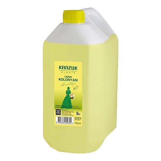 Kanzuk Limon Kolonyası 80 Derece 5 lt
