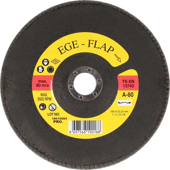 Egeli̇ 180 Flap Disk Nk 80