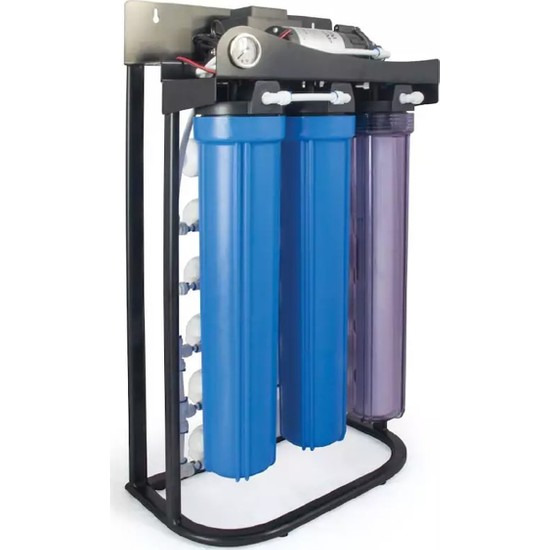 Aquabir Su Arıtma Cihazı 500 Gpd Direk Akışlı Günlük 1600 Lt Su Kapasiteli Su Arıtma Cihaz