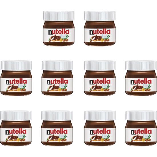 Nutella Mini Kakaolu Fındık Kreması 10'lu 25 gr
