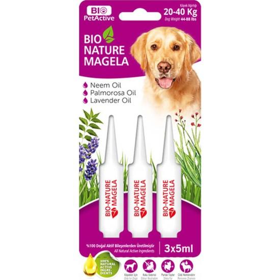 Bio Petactive Bio-Nature Magela 20-40 kg Köpek Ense Damlası (3 x 5 Ml)