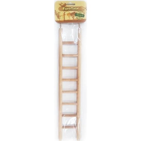 Eurogold Ahşap Kuş Oyuncağı Merdiven 8 Basamaklı 38 cm
